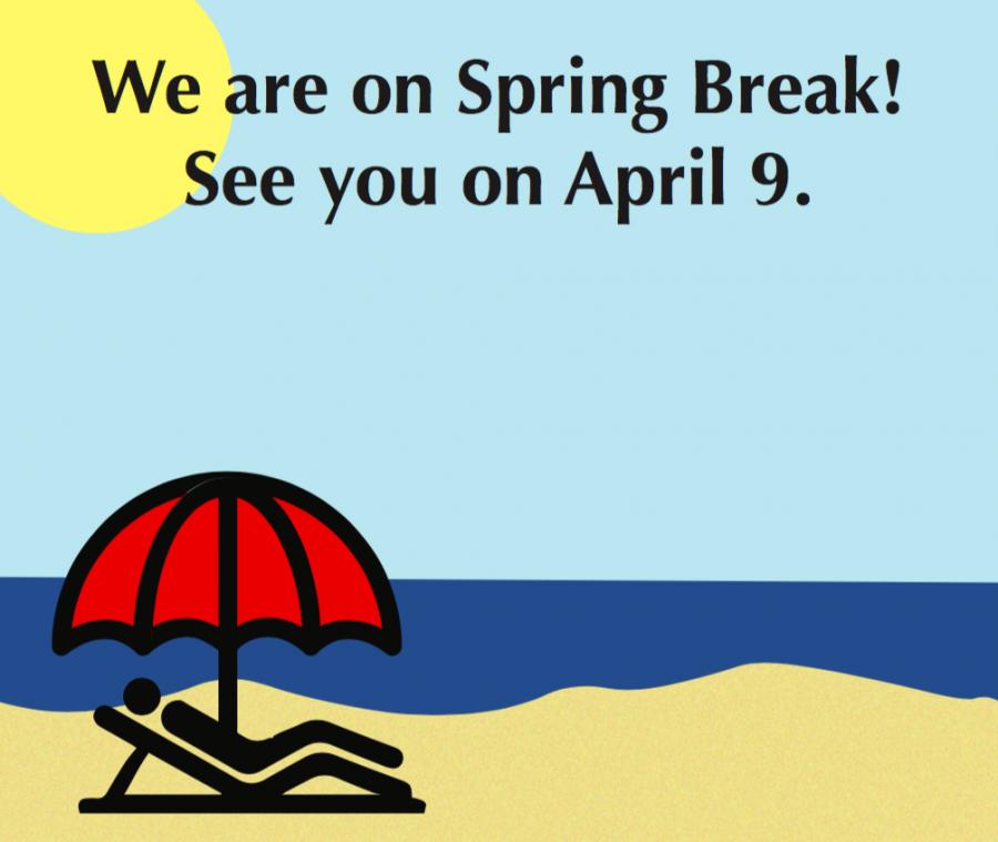 The Broadview is on Spring Break