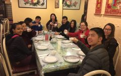 The Mandarin class ate traditional Chinese food to celebrate the Lunar New Year. Mandarin teacher Yuhong Yao wanted to celebrate the holiday together as a class.