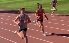 Track and field team competes in meet