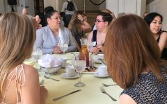 Lunch-ing into 'Alumnae Status'
