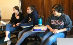 Students take part in leadership training with alumna