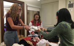 Club hosts clothing swap