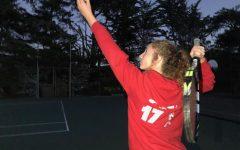 Varsity tennis takes on playoffs, semi-finals