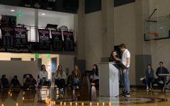 Community honors saint, service