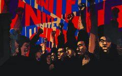Exhibit illustrates black rights