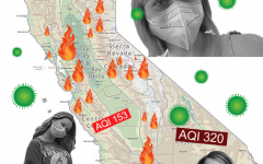 California residents face challenges presented by both wildfires and COVID-19.