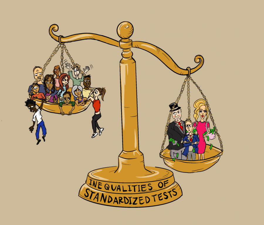 Standardized+testing+in+college+admissions+can+create+an+unfair+advantages.