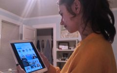 Like many teenagers, sophomore Lily Peta uses her iPad as a means of accessing social media. Netflix just released an new documentary,