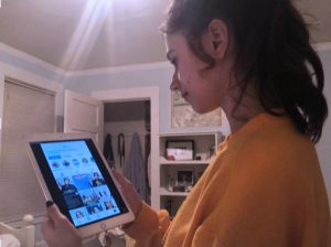 Like many teenagers, junior Lily Peta uses her iPad as a means of accessing social media. Netflix just released an new documentary,
